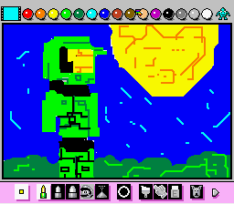 Mario Paint (Joystick) - LOL bad - User Screenshot